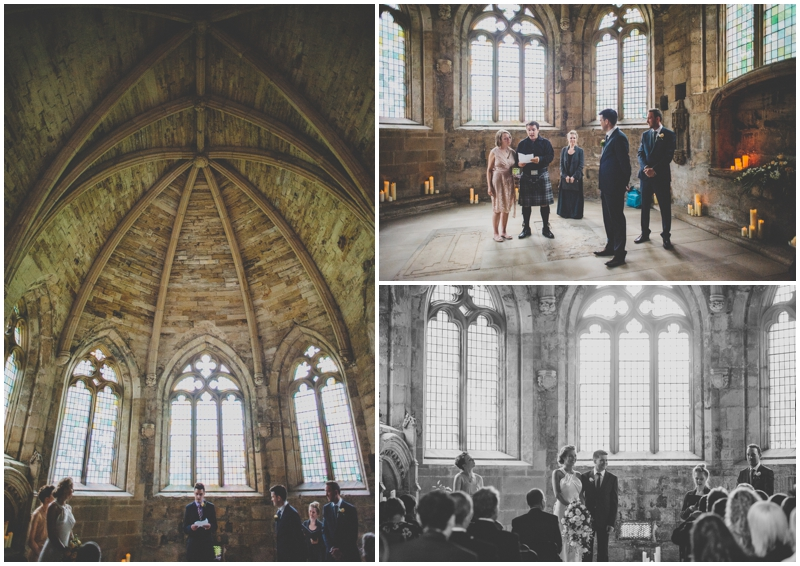 Melanie Amp Gordon S Wedding Seton Collegiate Church