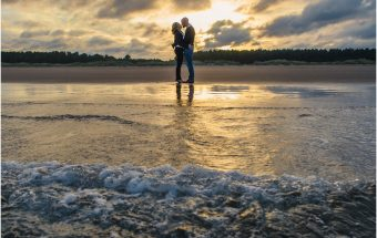 Engagement shoot at Tentsmuir Forrest ~ Introducing Debbie & James