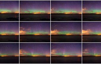 Aurora Borealis 24th Feb 2015 ~ Fife, Scotland