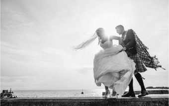 Crail Golf Club wedding ~ Congratulations Fiona & Gary