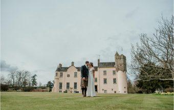 Myres Castle ~ Congratulations Laura & Benno