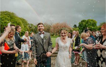 Congratulations Lucy & Douglas ~ Kirknewton Stables