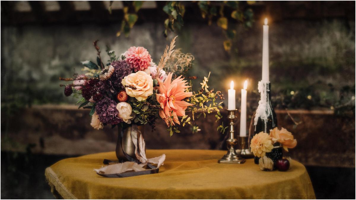 Scottish autumnal wedding inspiration